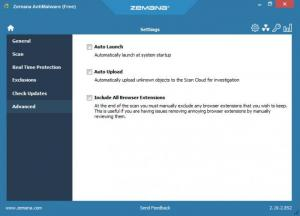 Enlarge Zemana AntiMalware Free Screenshot