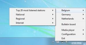 Enlarge Tray Radio Screenshot