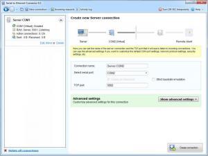 Enlarge Serial to Ethernet Connector Screenshot
