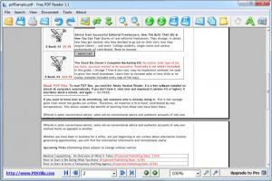 Enlarge Free PDF Reader Screenshot
