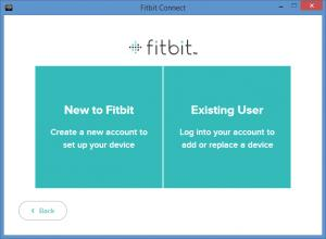 Enlarge Fitbit Connect Screenshot