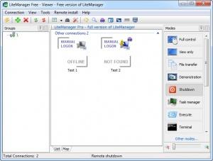 Enlarge LiteManager Free Screenshot