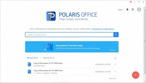 Enlarge Polaris Office Screenshot