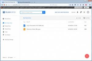 Enlarge Polaris Office Screenshot
