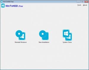 Enlarge WinToHDD Screenshot