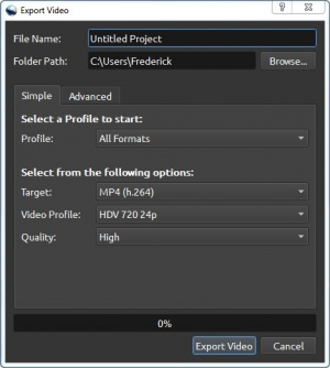 Enlarge OpenShot Screenshot