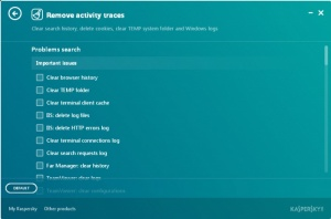 Enlarge Kaspersky Cleaner Screenshot