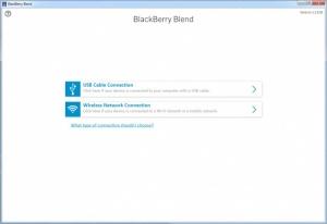 Enlarge BlackBerry Blend Screenshot