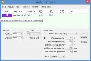 Enlarge WinSleep Screenshot