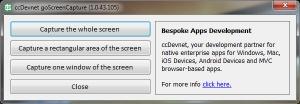 Enlarge goScreenCapture Screenshot