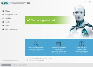 Enlarge ESET Internet Security Screenshot