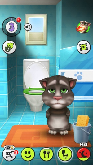Enlarge My Talking Tom for Windows PC Screenshot