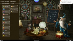 Enlarge Magic Desktop Screenshot