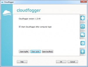 Enlarge Cloudfogger Screenshot