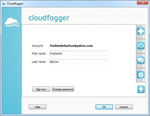 Enlarge Cloudfogger Screenshot