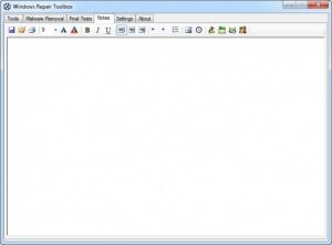 Enlarge Windows Repair Toolbox Screenshot