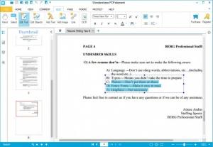 Enlarge PDFelement Screenshot