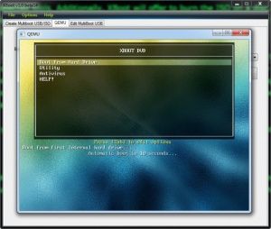 Enlarge XBoot Screenshot