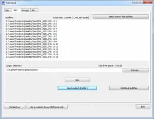 Enlarge FileFriend Screenshot