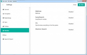 Enlarge Laverna Screenshot