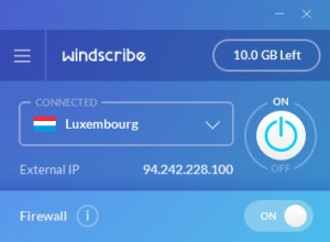 Enlarge Windscribe Screenshot