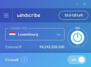 Enlarge Windscribe Screenshot