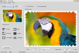 Enlarge Pattaizer Screenshot