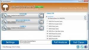 Enlarge Atomiccleaner Screenshot