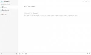 Enlarge WordMark Screenshot