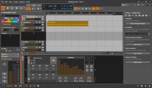 Enlarge Bitwig Studio Screenshot