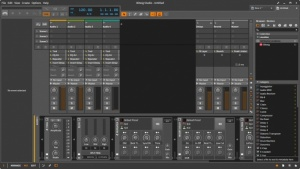 Enlarge Bitwig Studio Screenshot