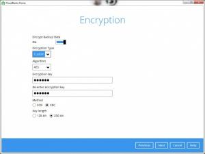 Enlarge CloudBacko Home Screenshot