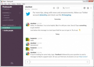 Enlarge Slack Screenshot