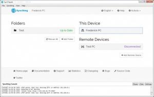 Enlarge SyncTrayzor Screenshot