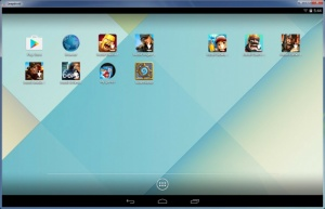 Enlarge LeapDroid Screenshot