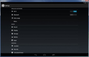 Enlarge LeapDroid Screenshot