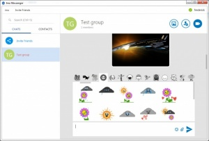 Enlarge Imo Messenger Screenshot