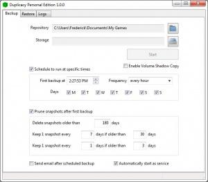 Enlarge Duplicacy Screenshot