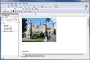 Enlarge KompoZer Screenshot