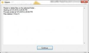 Enlarge FolderShredder Screenshot