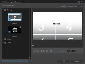 Enlarge CyberLink ActionDirector Screenshot