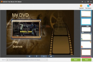 Enlarge Sothink Free Movie DVD Maker Screenshot