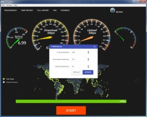 Enlarge SpeedTest Screenshot