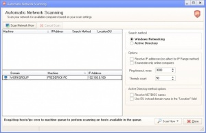 Enlarge EMCO Network Malware Cleaner Screenshot
