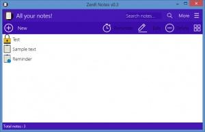 Enlarge ZenR Notes Screenshot