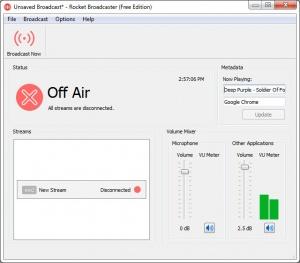 Enlarge Rocket Broadcaster Screenshot