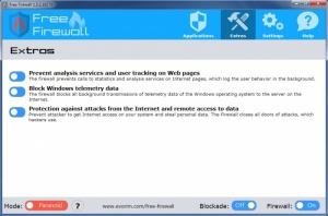 Enlarge Envorim Free Firewall Screenshot