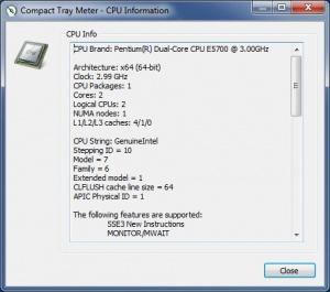 Enlarge Compact Tray Meter Screenshot