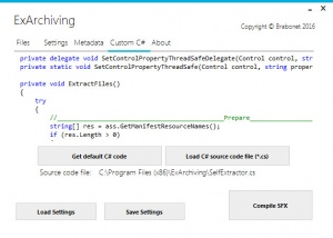 Enlarge ExArchiving Screenshot