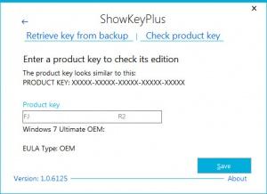 Enlarge ShowKeyPlus Screenshot